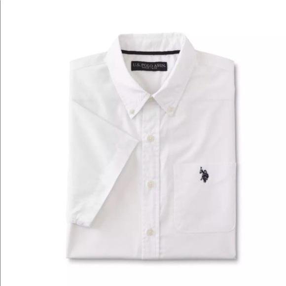 u s polo white shirts